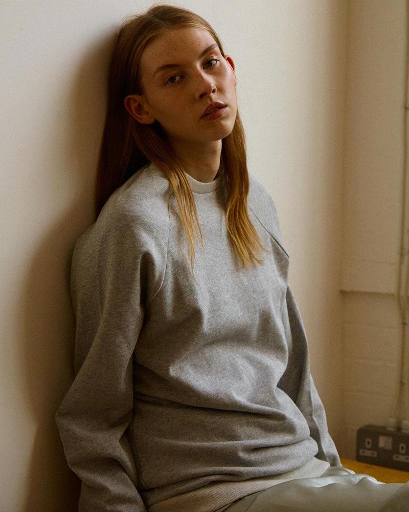 Baserange Jounich Round Neck Fleece Sweater