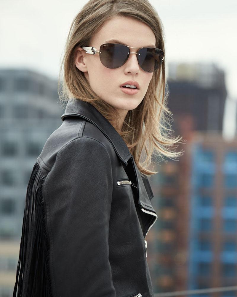 Bvlgari Universal-Fit Aviator Sunglasses