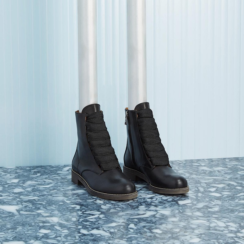Chloé Harper leather ankle boots