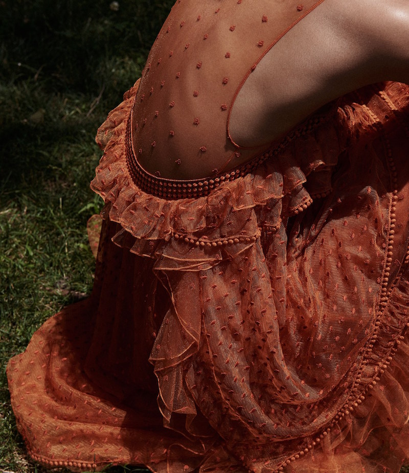 Chloé Swiss-Dot Tulle Gown_1