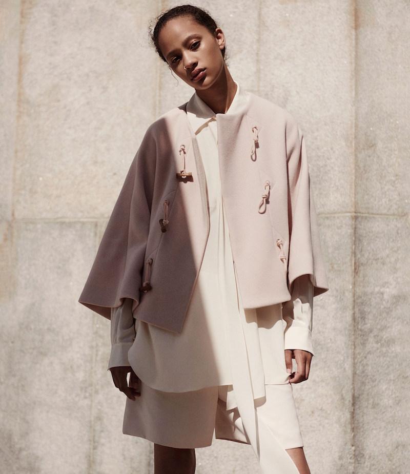 Chloé Wool-Blend Collarless Jacket