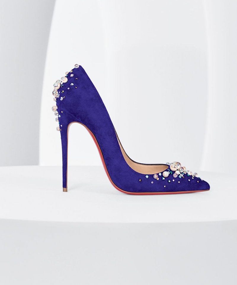 Christian Louboutin Candidate Embellished Pump