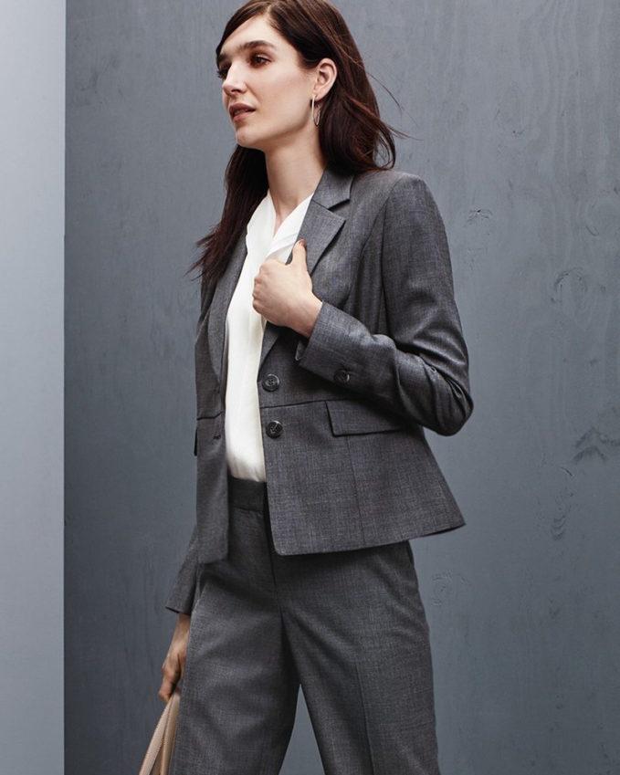 Classiques Entier Superfine Wool Suit Jacket