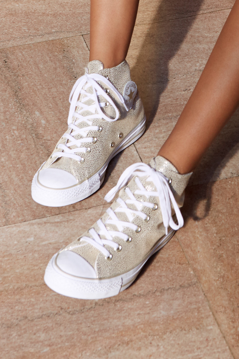 Converse Chuck Taylor All Star Stingray High-Top Leather Sneaker