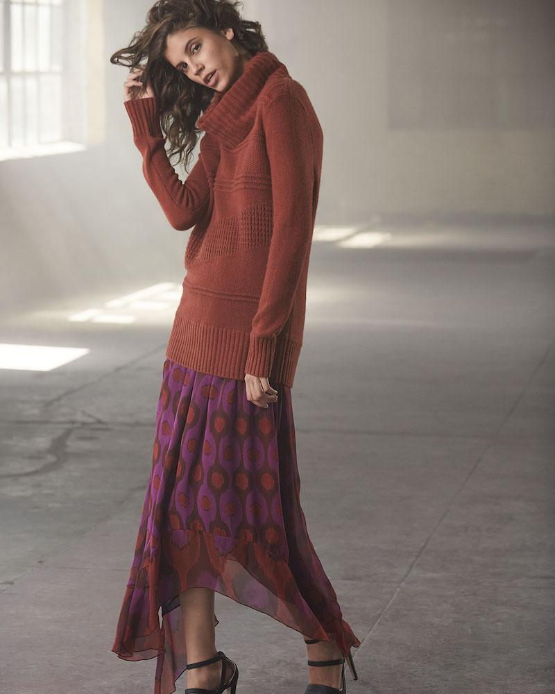 Diane von Furstenberg Talassa Cowl-Neck Sweater