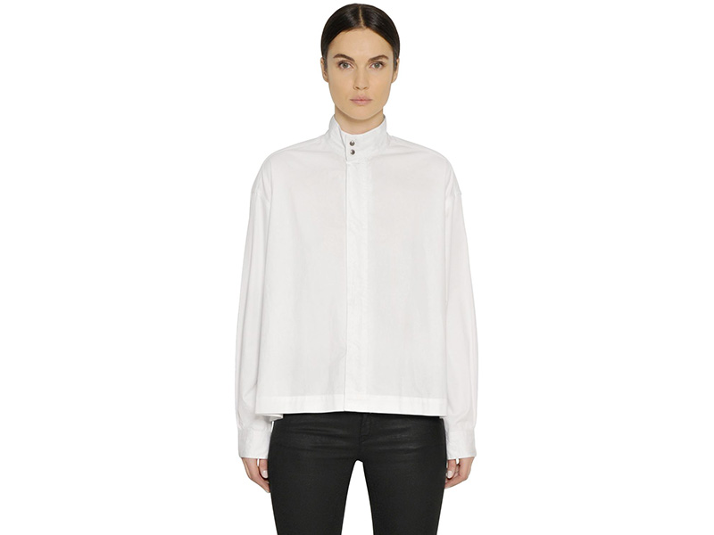 Diesel Black Gold Cotton Poplin Shirt