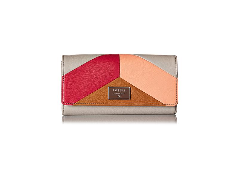 Fossil Dawson Flap PNKM Wallet