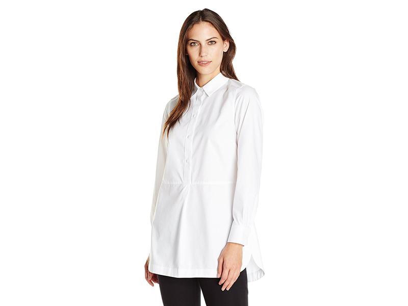 Foxcroft Long Sleeve Non Iron Tunic