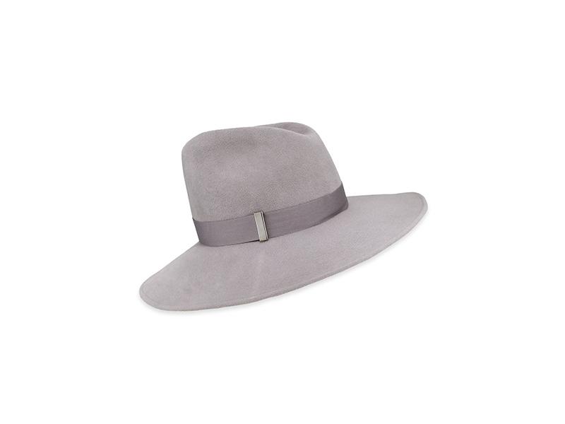 Gigi Burris Drake Wool Wide-Brim Fedora Hat