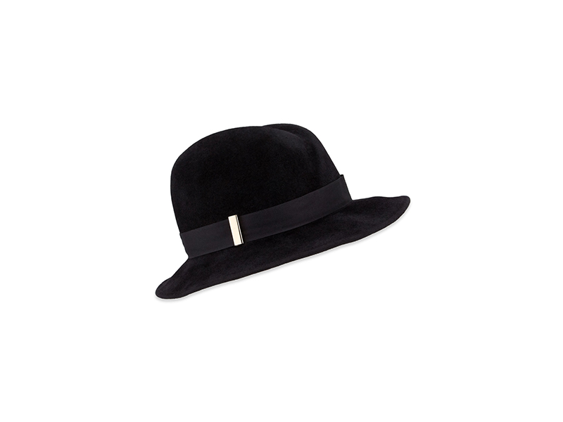Gigi Burris Nell Handmade Wool Fedora Hat