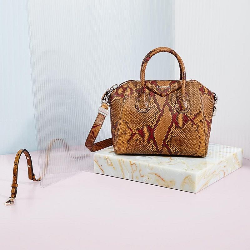 Givenchy Antigona mini python tote