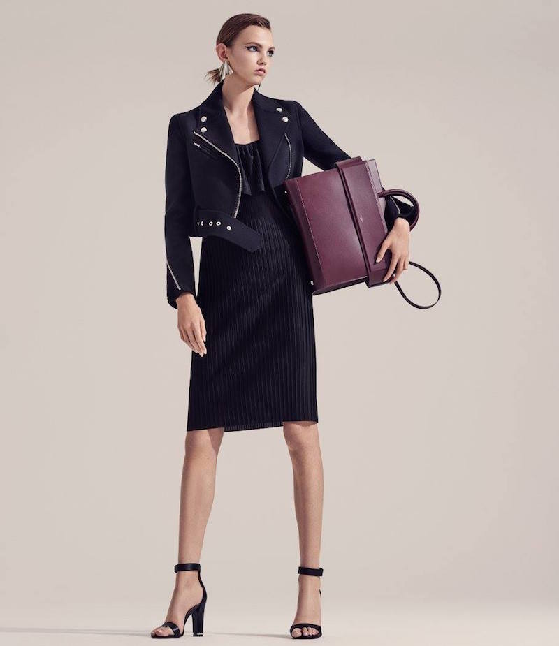 Givenchy Pleated Tech-Jersey Dress
