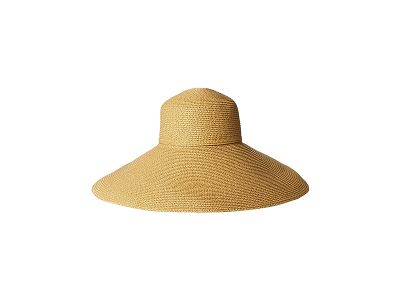 Gottex Belladonna Wide Brim Packable Sun Hat Rated