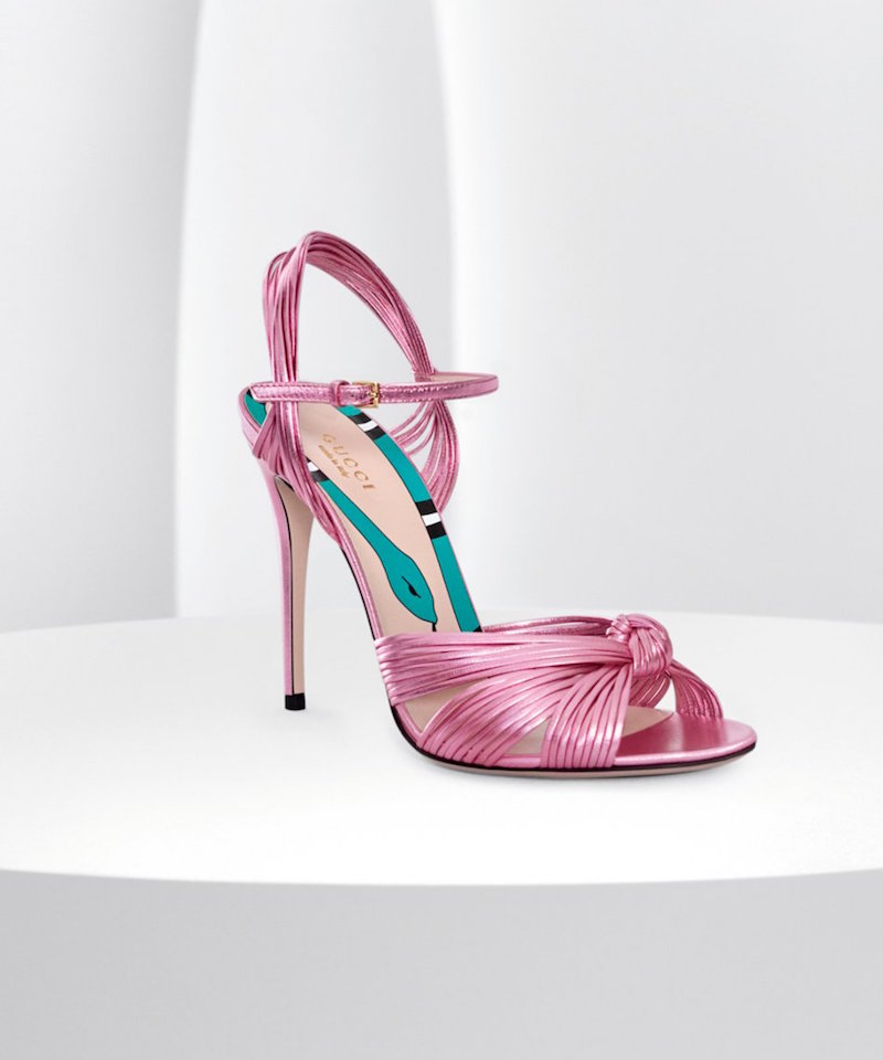 Gucci Allie Peep Toe Pump