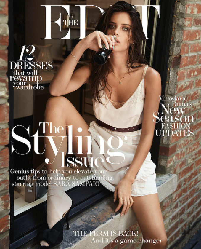Hot Right Now: Sara Sampaio for The EDIT