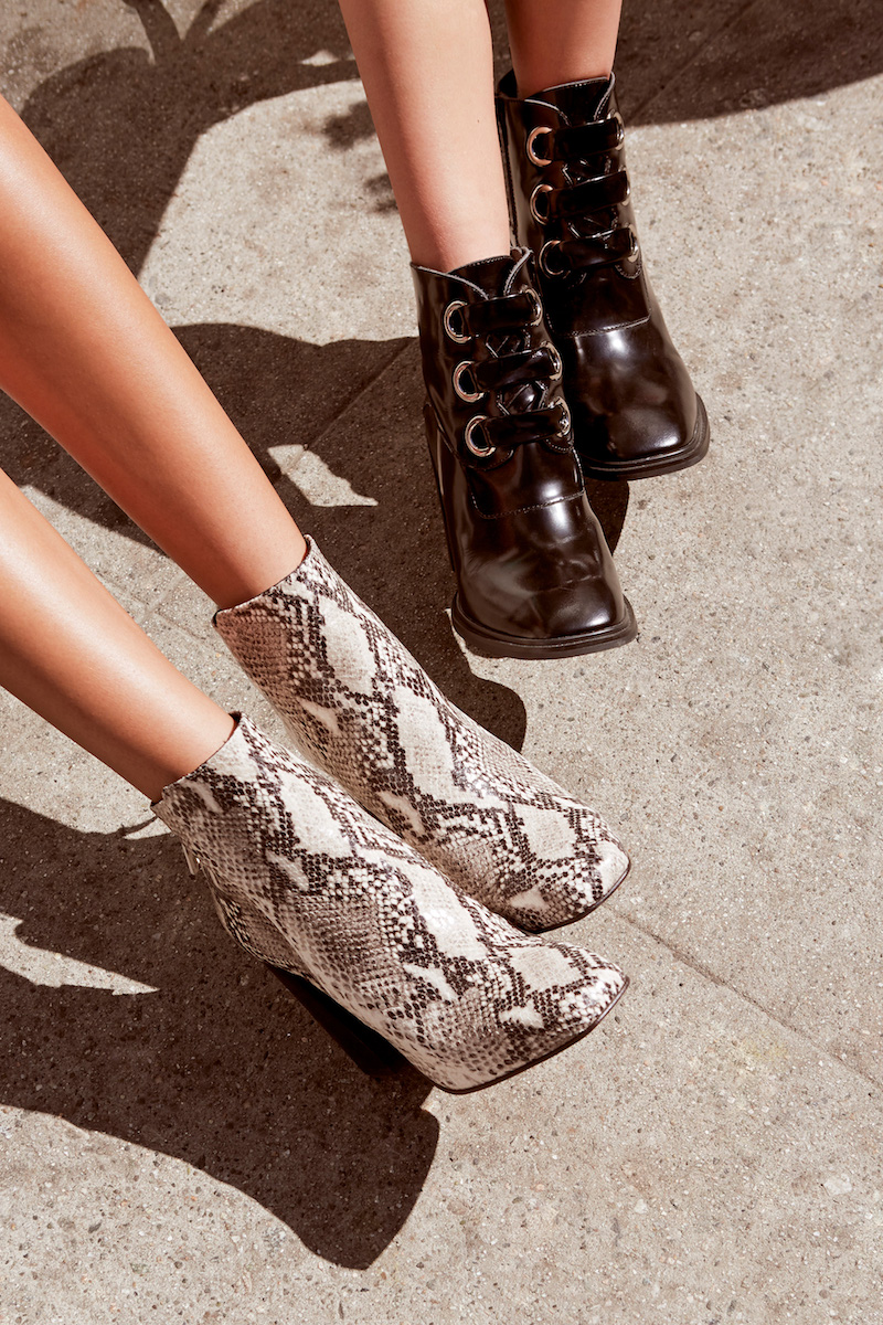 Jeffrey Campbell Emporia Box Leather Boot