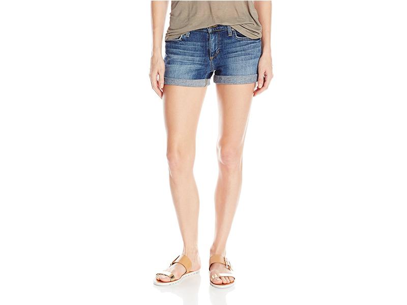 Joe's Jeans Rolled Denim Short in Petra