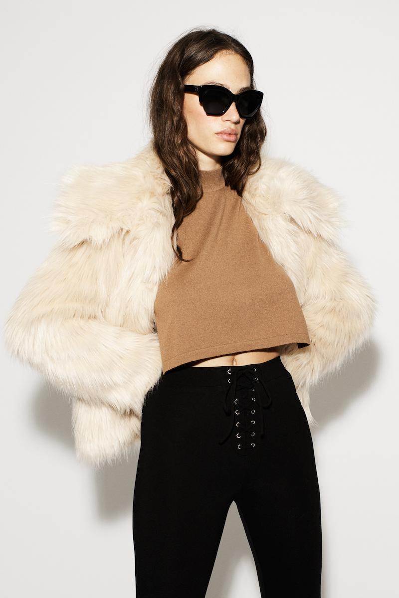 LPA 30 Faux Fur Coat