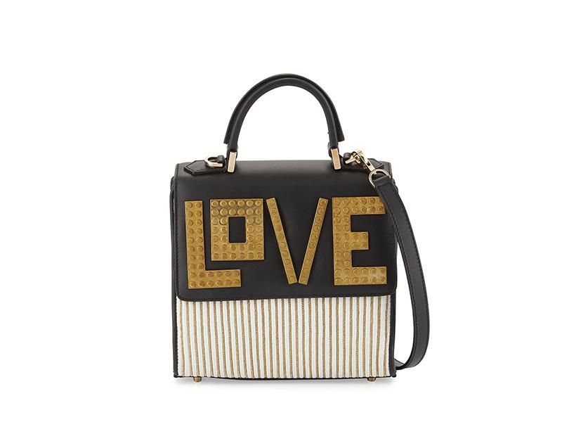 Les Petits Joueurs Alex Mini Love Shoulder Bag