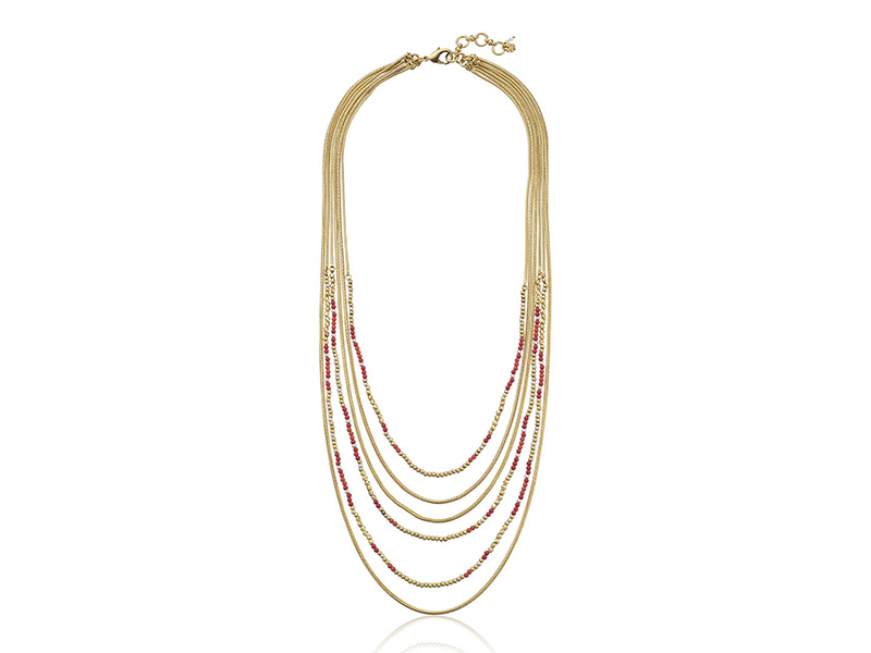 Lucky Brand Gold Multi-Strand Necklace