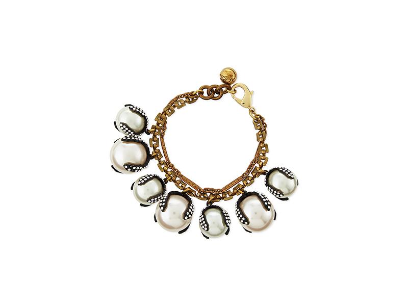 Lulu Frost Decade Simulated Pearl Bracelet