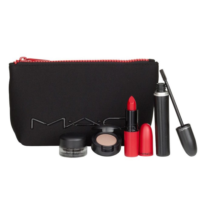 MAC Look in a Box Downtown Diva Red Lip & Eye Kit_1