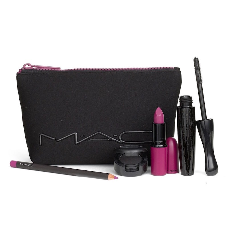 MAC Look in a Box Girl Band Glam Purple Lip & Eye Kit_1