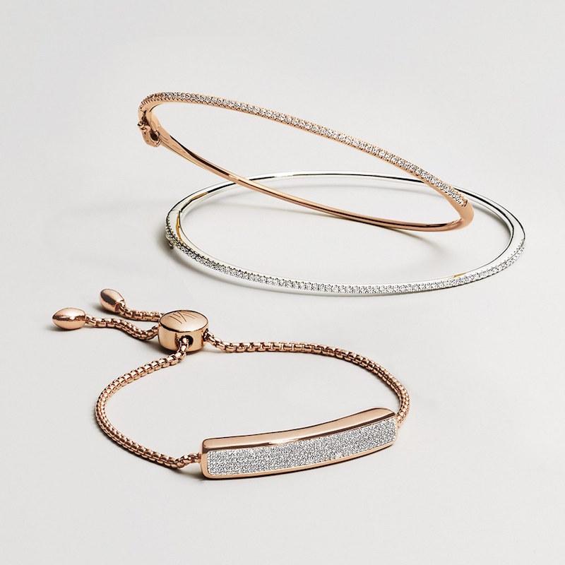 MONICA VINADER Baja Pavé Diamond Bracelet