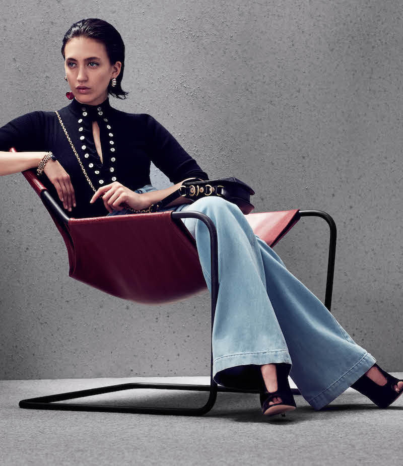 Maison Mayle Henley Rib-Knit Wool-Silk Sweater