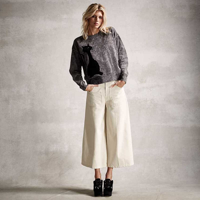 Marc Jacobs Patch-Pocket Culottes
