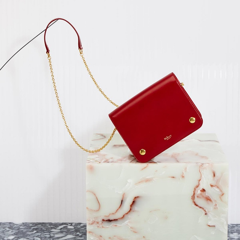 Mulberry Clifton leather cross-body bag