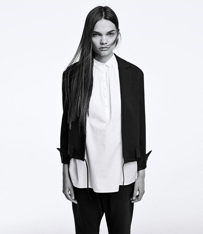 Nili Lotan Drawstring-Detailed Chelsea Jacket