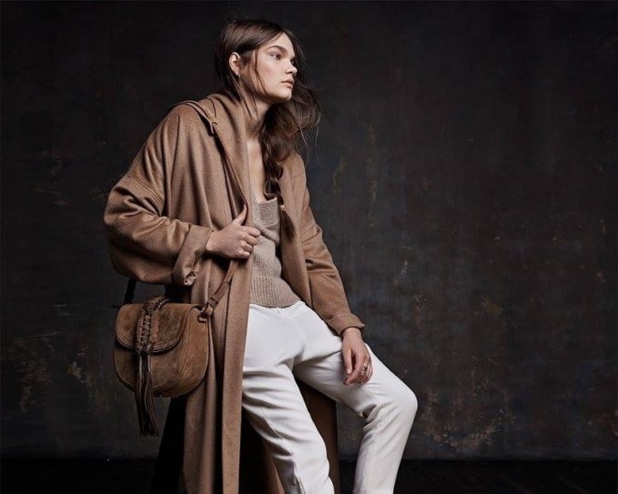 Nili Lotan Laight Wool-Blend Duster Coat