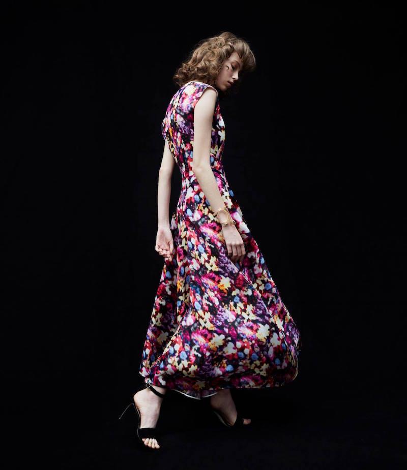 Nina Ricci Asymmetric-Panel Dress