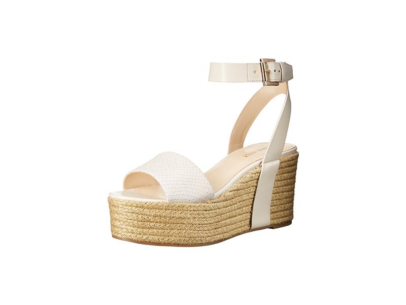 Nine West Edoile Synthetic Wedge Sandal