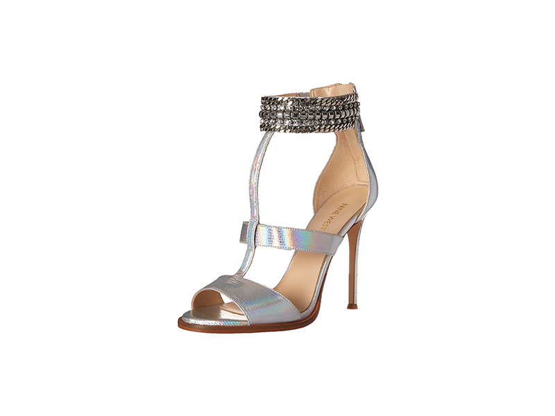 Nine West Halonia Metallic Heeled Sandal