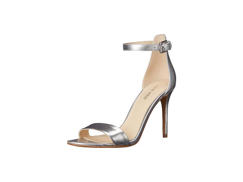 Nine West Mana Metallic Heeled Sandal