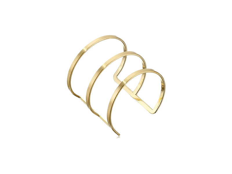 Panacea Brushed Ladder Cuff Bracelet