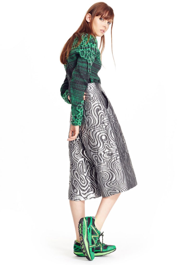 Phelan 3D Lace Inlay Knit Pullover