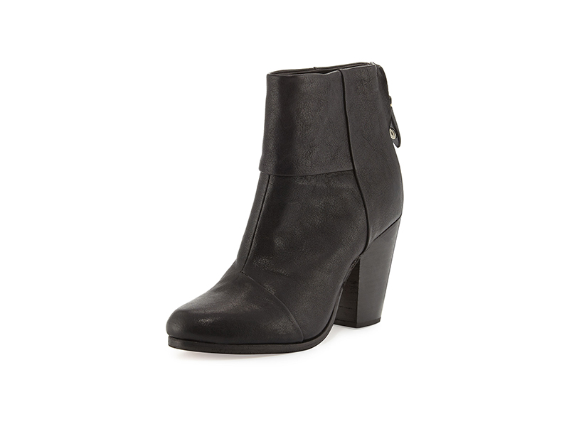Rag & Bone Classic Newbury Leather Bootie
