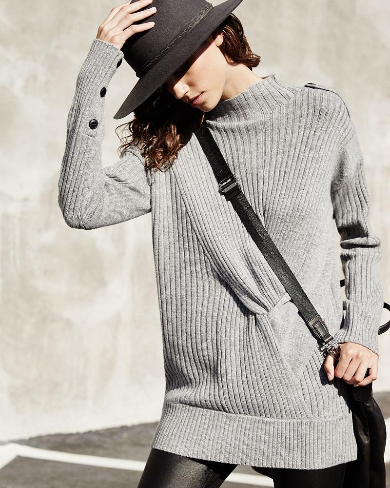 Rag & Bone Dale Ribbed Wool Sweater