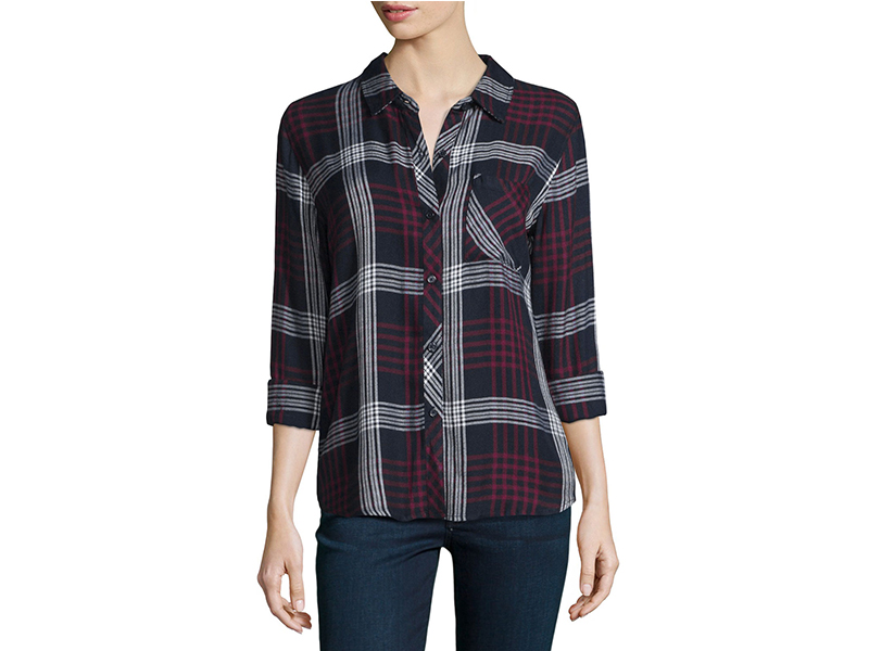 Rails Hunter Plaid Long-Sleeve Shirt_1