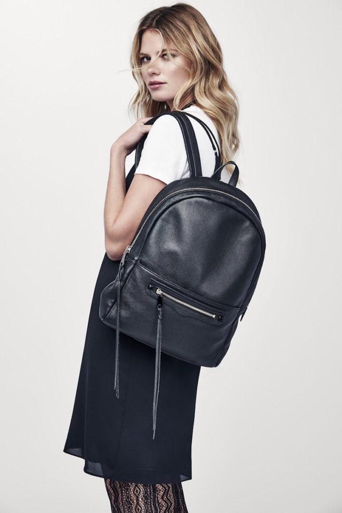 Rebecca Minkoff Always On Regan Leather Backpack
