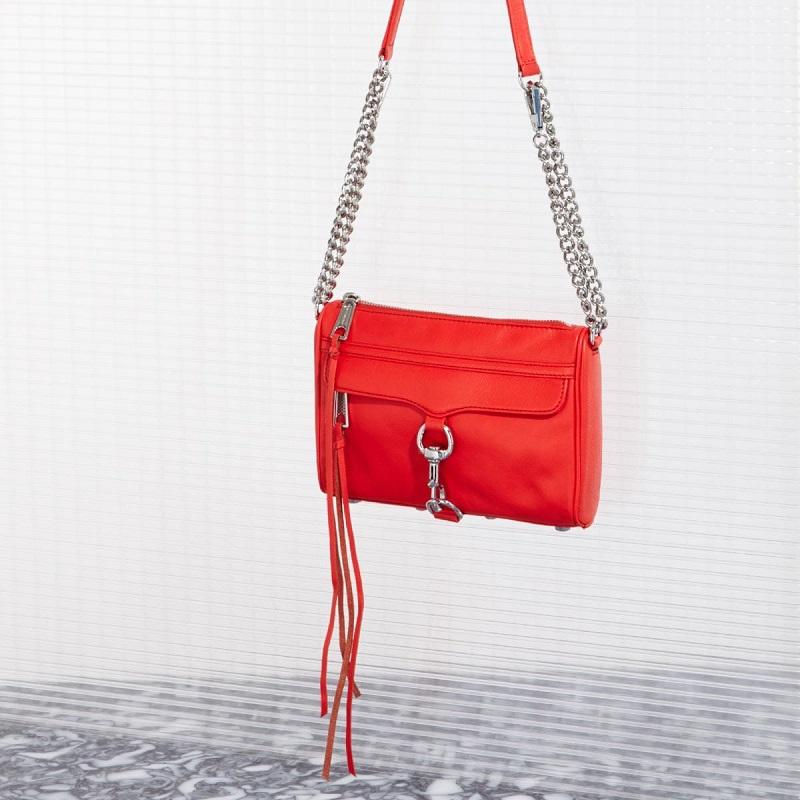 Rebecca Minkoff' Mini mac leather cross body bag