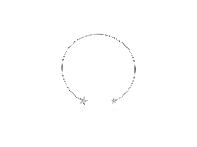 Rebecca Minkoff Star Point Collar Necklace
