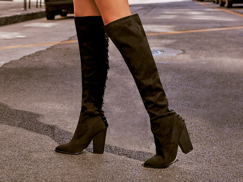 Right Back at You Lace-Up Boot