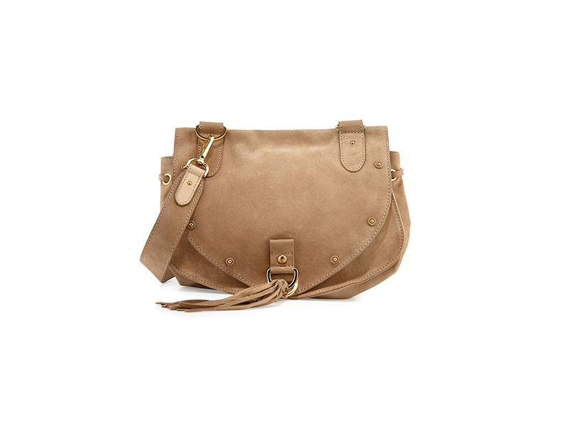 See by Chloé Suede Tassel-Flap Crossbody Bag