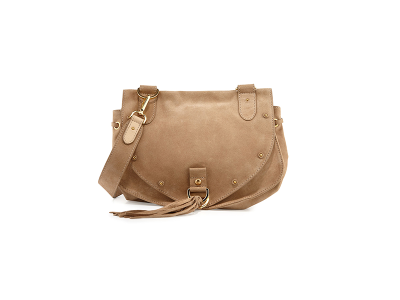 See by Chloé Suede Tassel-Flap Crossbody Bag
