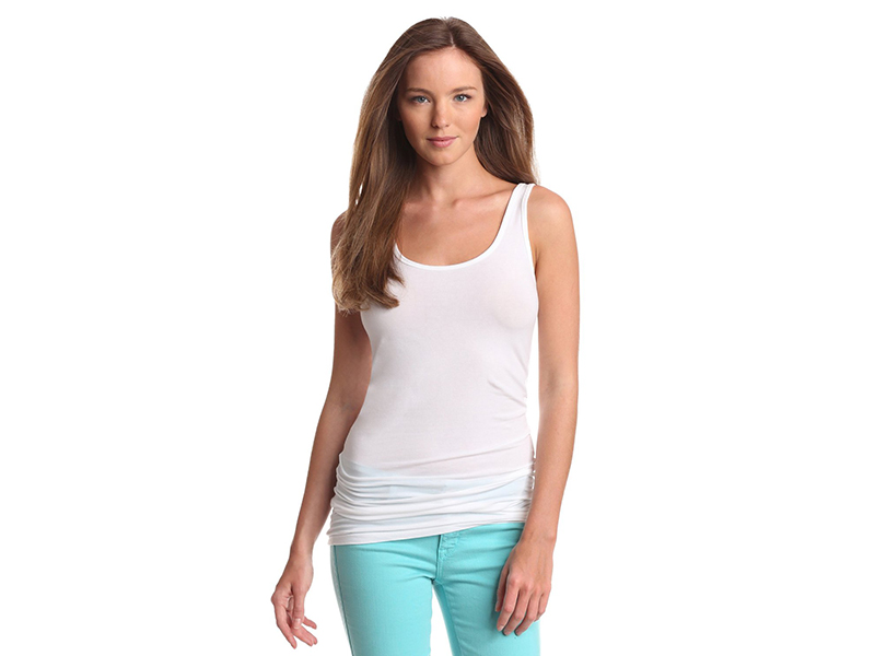 Splendid Long Fitted Layering Tank Top