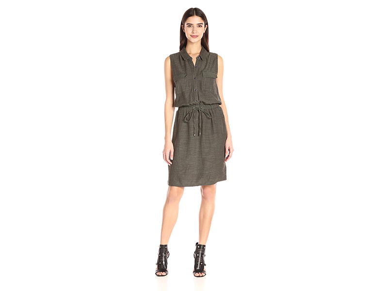 Splendid Sleeveless Shirtdress